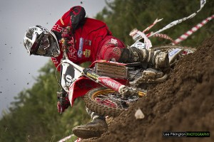 Par Honda racing at Landrake British Masters