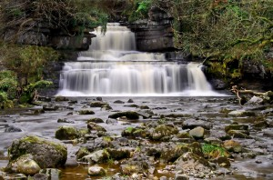 Image of Yorkshire Dales Waterfall