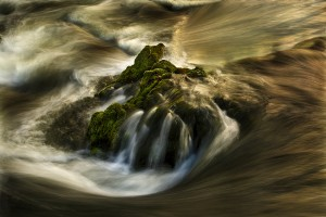 image of water at Skelwith bridge