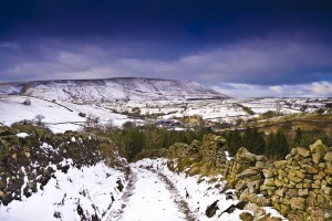 Winter on Pendle Hill