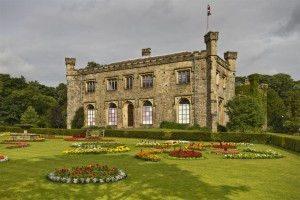 Stock image of Towneley Hall