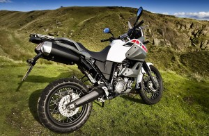 Yamaha XT660Z motorcycle photography