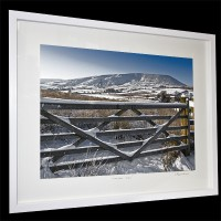Snowy Pendle Hill by Lee Pilkington