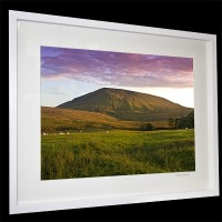 Pendle Hill sunset picture
